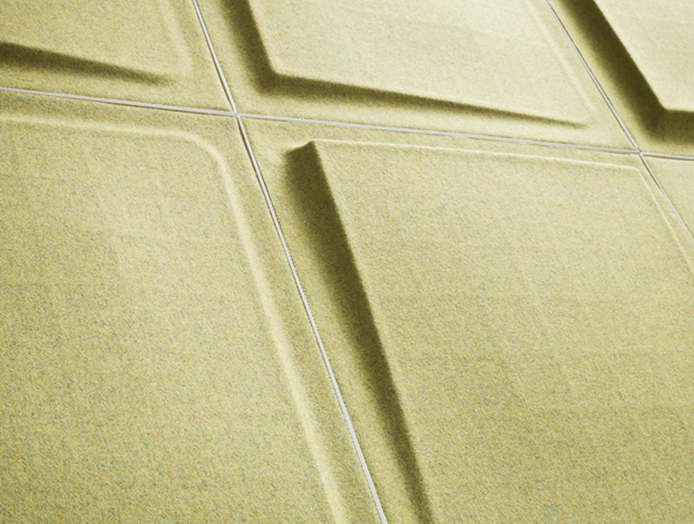 Gaber Fono Acoustic Wall Panels in green