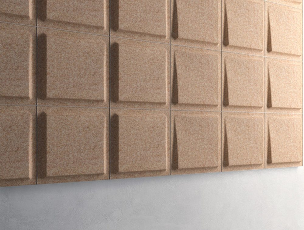 Gaber Fono Acoustic Wall Panels in light brown