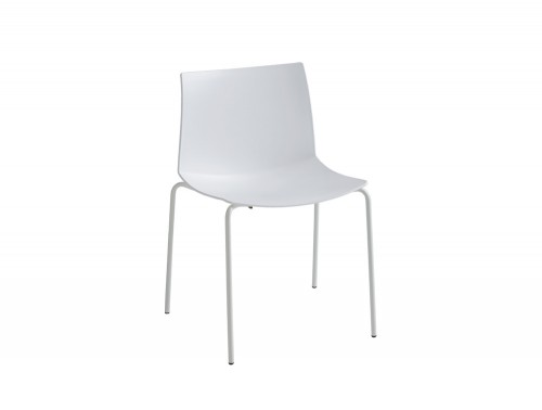 Gaber-Kanvas-Canteen-Chair-Gaber-Kanvas-Canteen-Chair-without-Armrests-in-White-with-Metal-Legs
