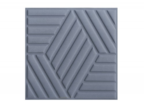 Gaber Madison Acoustic Suspended Ceiling Tile in Slate Grey