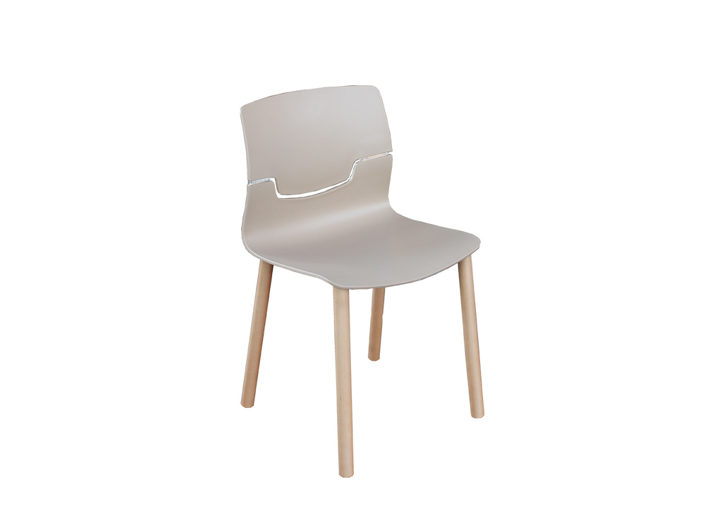 Gaber-Slot-Stacking-Canteen-Chair-without-Armrests-in-Beige-with-Wooden-Legs