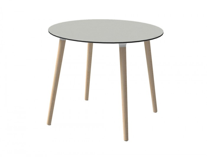 Gaber-Stefano-Table-with-Grey-Tabletop-and-Natural-Wood-Finish-Legs