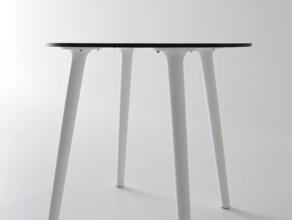 Gaber-Stefano-Table-with-White-Tabletop-and-White-Legs-Straight-View