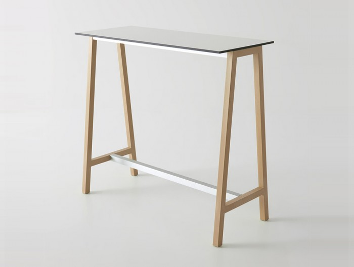 Gaber-Step-Canteen-Table-with-White-Tabletop-and-Brown-Frame