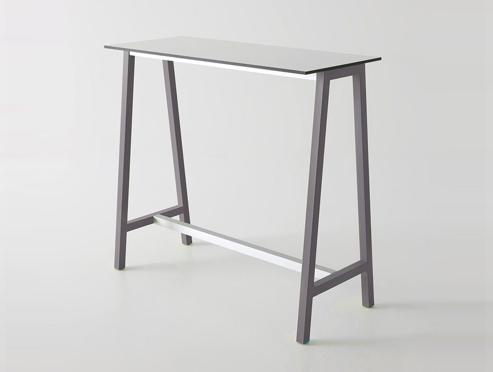 Gaber-Step-Canteen-Table-with-White-Tabletop-and-Lilac-Grey-Frame