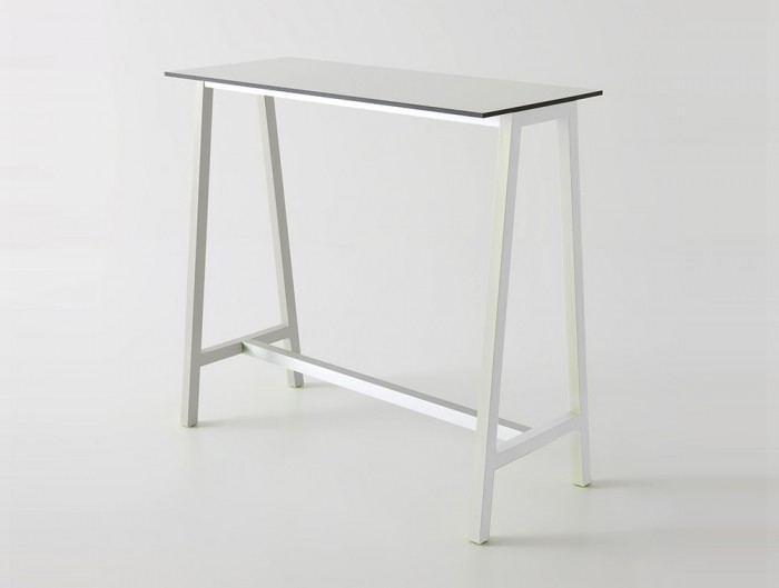 Gaber-Step-Canteen-Table-with-White-Tabletop-and-White-Frame
