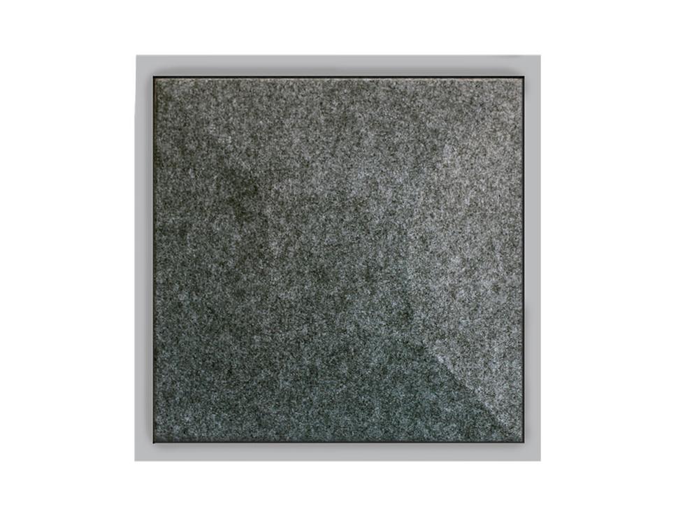 Gaber Uniko Curved Acoustic Suspended Ceiling Tile Grey Felt