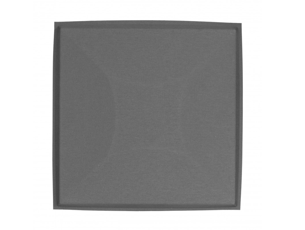 Gaber Uniko Curved Acoustic Suspended Ceiling Tile in Grey Front