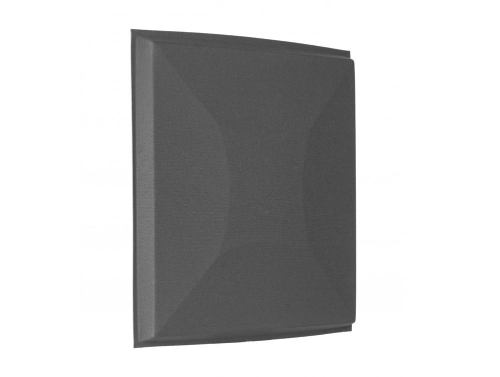 Gaber Uniko Curved Acoustic Suspended Ceiling Tile in Grey Side