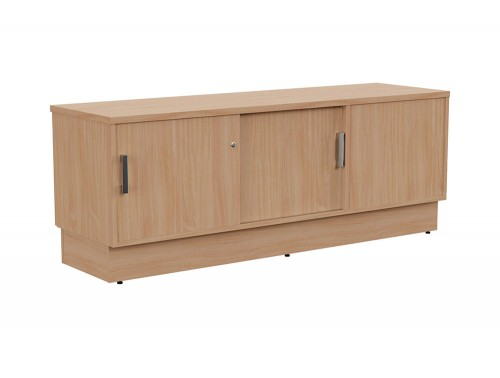 Grand Executive Credenza Storage Unit LH in Beech