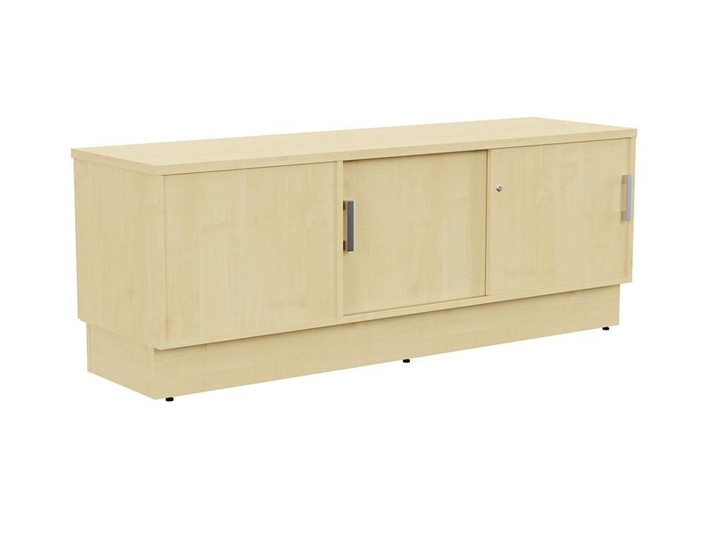 Grand Executive Credenza Storage Unit - Maple - Right