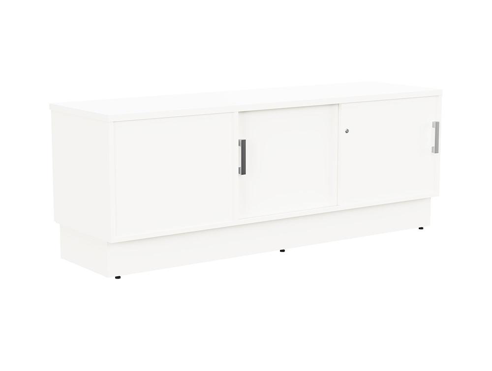 Grand Executive Credenza Storage Unit - White - Right