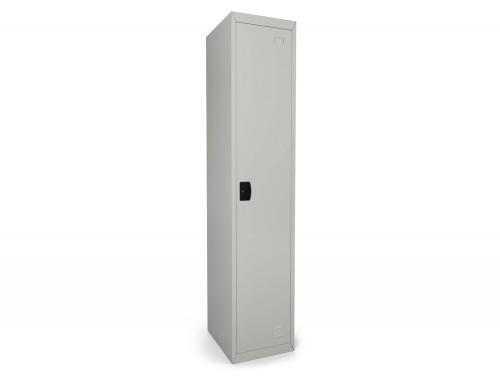 Graviti Contract Locker 1 Door 1850mm High 450 Deep Goose Grey Assembled