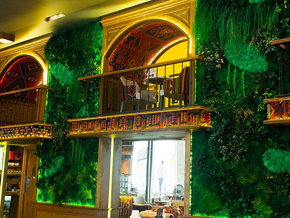 Green-Mood-Green-Walls-Forest-in-Passage-Second-Floor