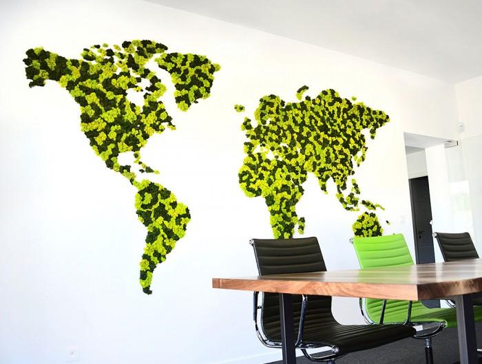 Green-Mood-Green-Walls-Lichen-Moss-World-Map
