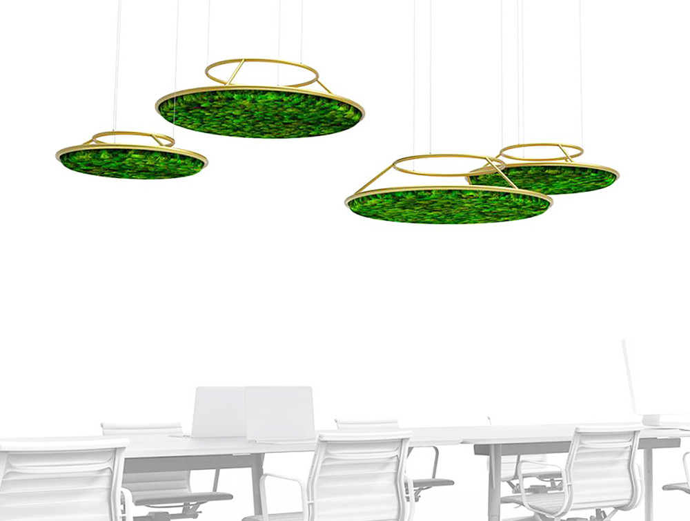 Green-Mood-Moss-Acoustic-Circle-Wall-Hanging-Panels-Featured-Image