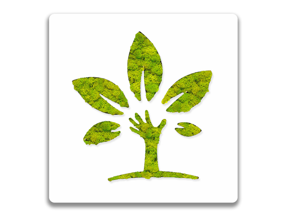Green Mood Pictogram Eco Sign