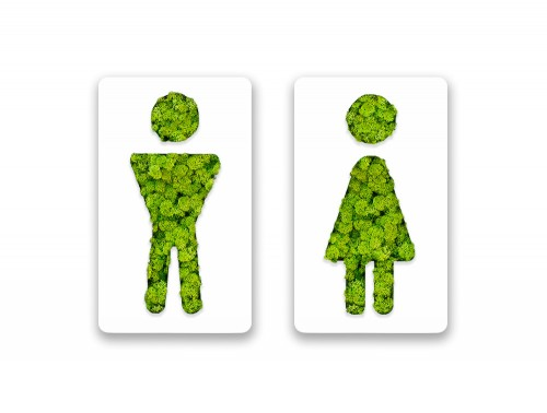 Green-Mood-Pictogram-Male-and-Female-Bathroom-Signs-with-Border