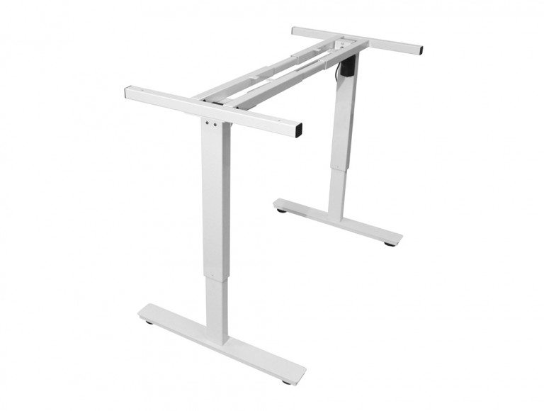 HAF-W ErgoLift Sit-stand Electric Adjustable Desk Frame in White