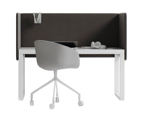 HSH-DUO-D Hush Duo Desk Acoustic Screens