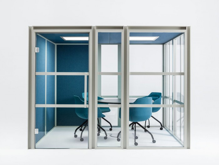 Hako-Multi-Seater-Acoustic-Meeting-Pod-Front-View
