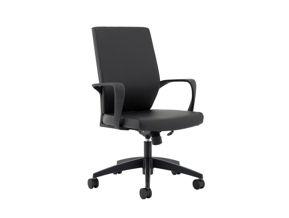 Hampton-Medium-Back-Black-Office-Chair-in-Leather