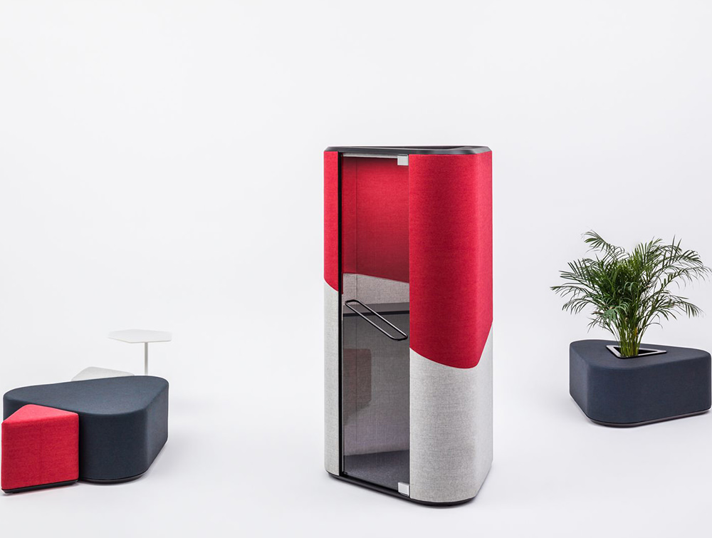 Hana-Compact-Acoustic-Phone-Booth-Displayed-with-Poufs-02