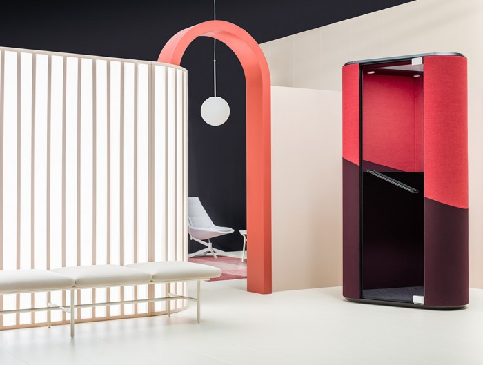 Hana-Compact-Acoustic-Phone-Booth-in-Showroom