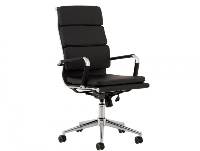 Hawkes-Italian-Styles-Black-Leather-Office-Executive-Chair