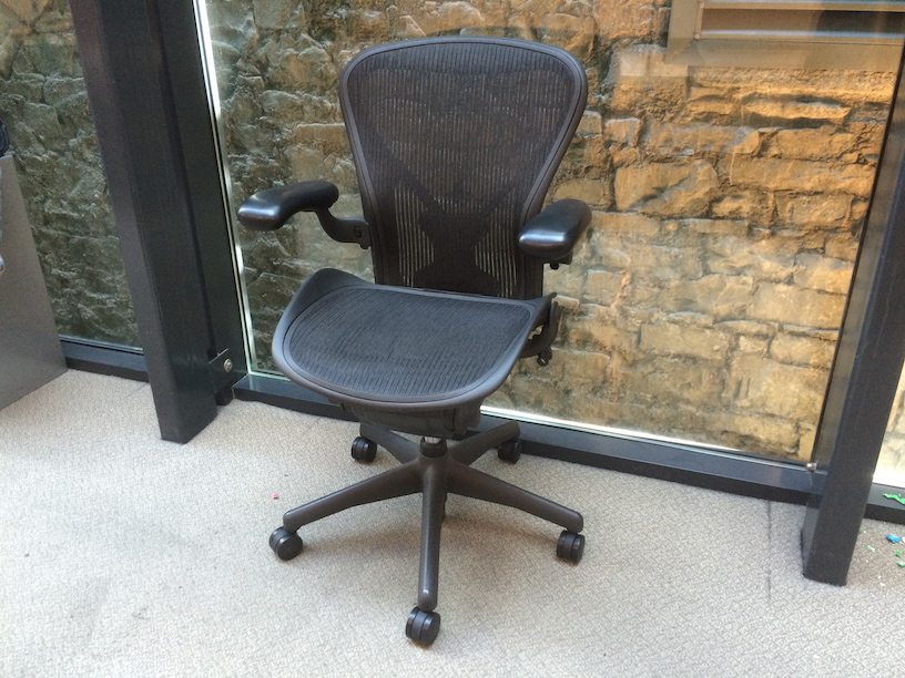 used herman miller aeron ergonomic office chair