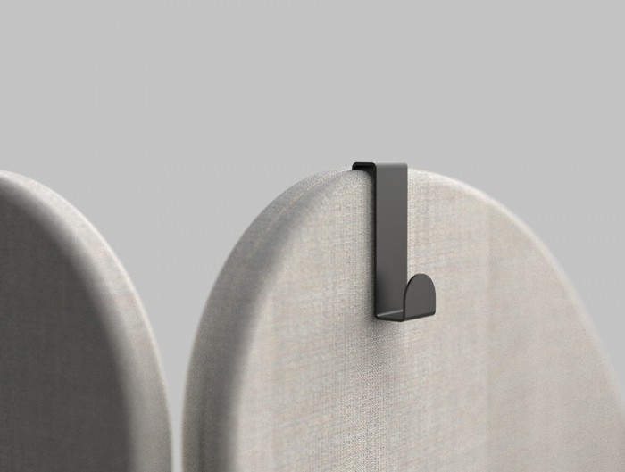 Home Comfy Accessories Coat Hook in Black Finish