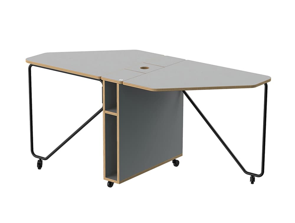 Home Office Fully Foldable Mobile Drop Desk