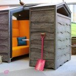 Huddle Shed Rustic Meeting Pod 4
