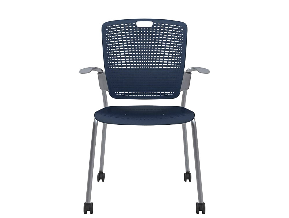Humanscale Cinto Stackable Chair with Floating Backrest Technology