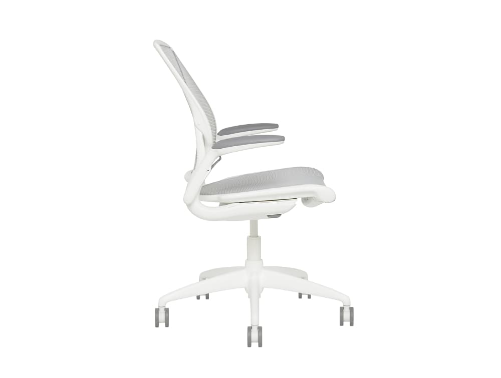 Humanscale Diffreint Full Mesh Task Office Chair Side View