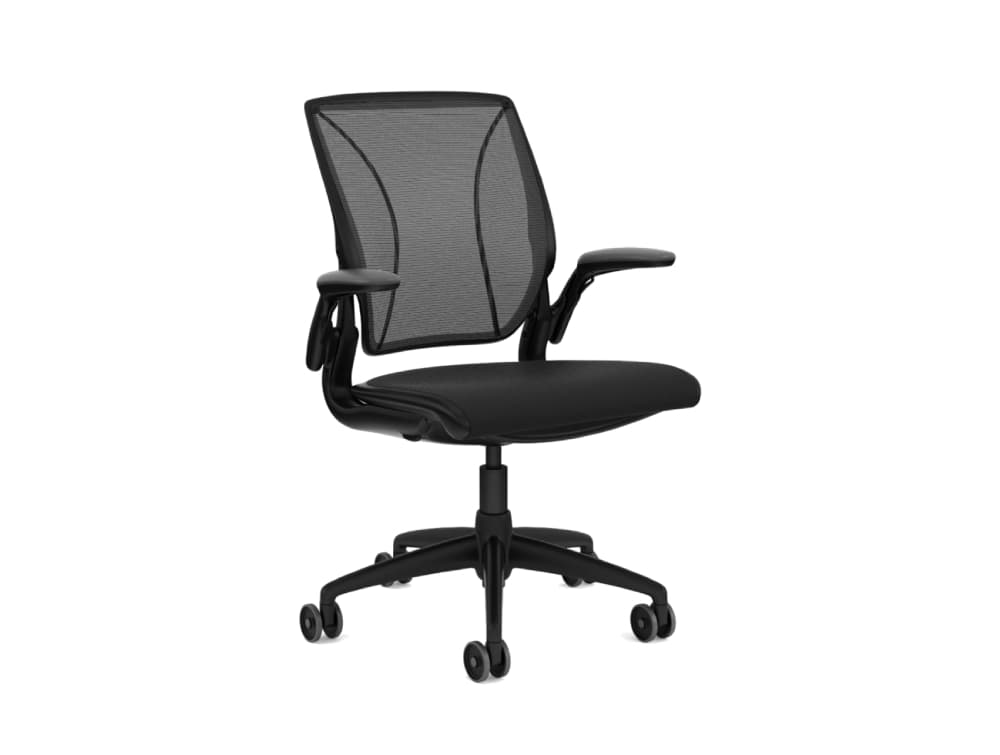 Humanscale Diffreint Full Mesh Task Office Chair in Black