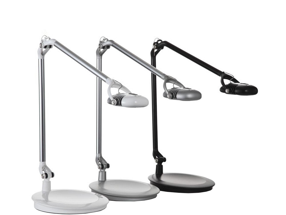 Humanscale Ergonomic and Dimmable Element 790 Desk Light