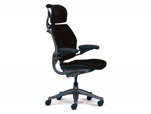 humanscale freedom headrest side - Black color