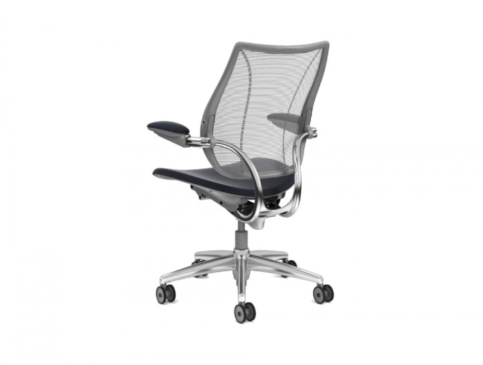 Humanscale Liberty Mesh Back Task Office Chair Rear View