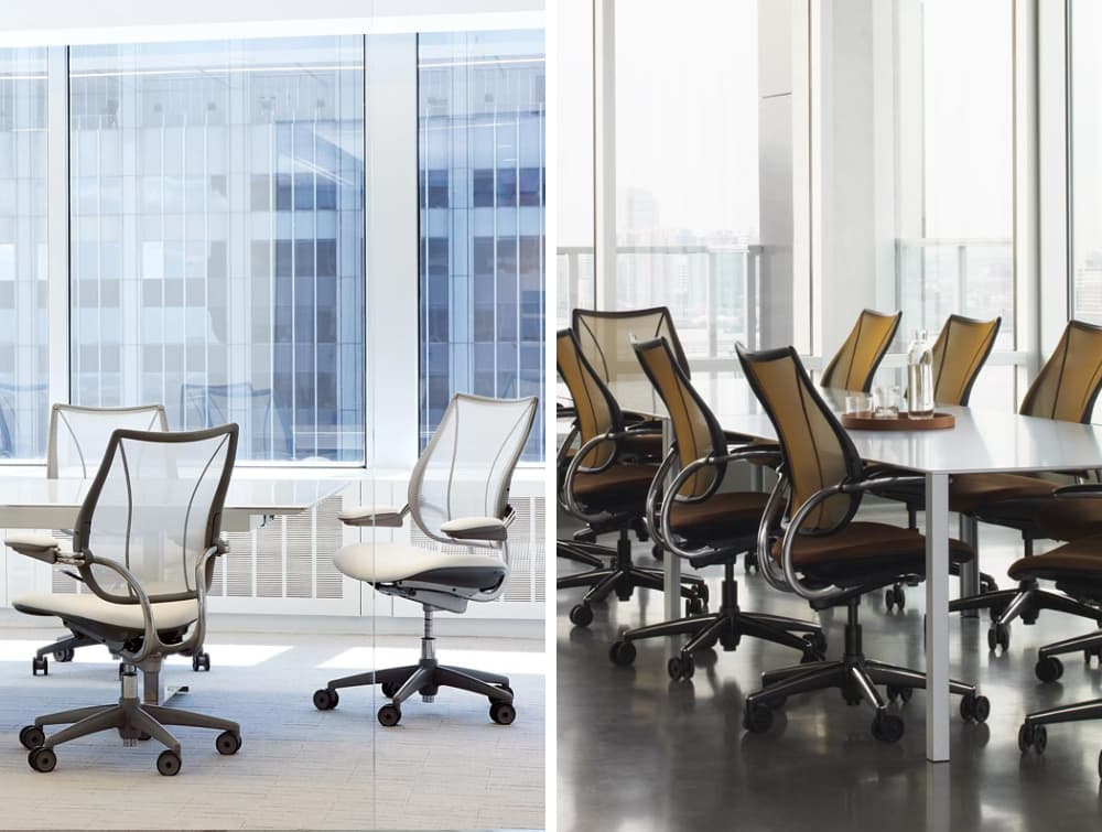 Humanscale Liberty Mesh Back Task Office Chair in Meeting Rooms