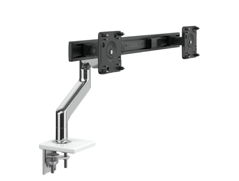 Humanscale M 2.1 Monitor Arm with Two-Piece Clamp Mount Base Component View