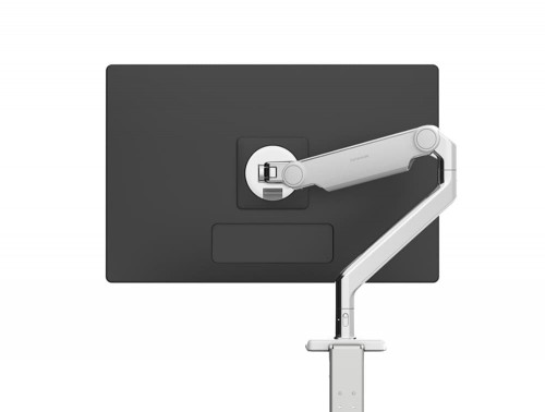 Humanscale M 8.1 Monitor Arm for Single or Dual Monitors Rear View