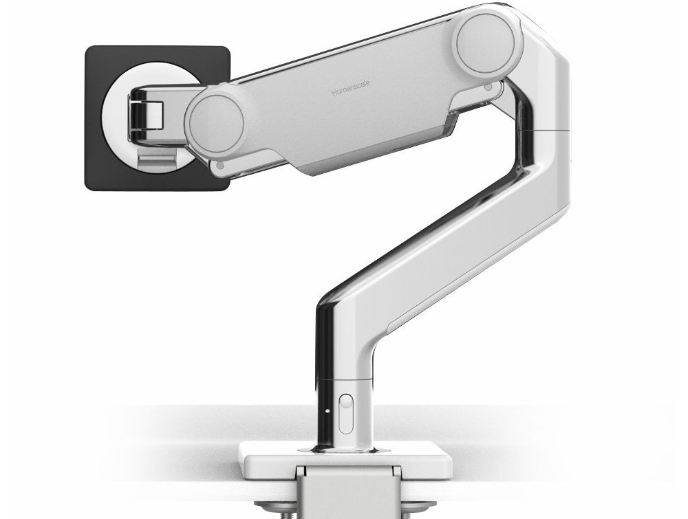 Humanscale M10 Adjustable Monitor Arm for up to 3 Monitors