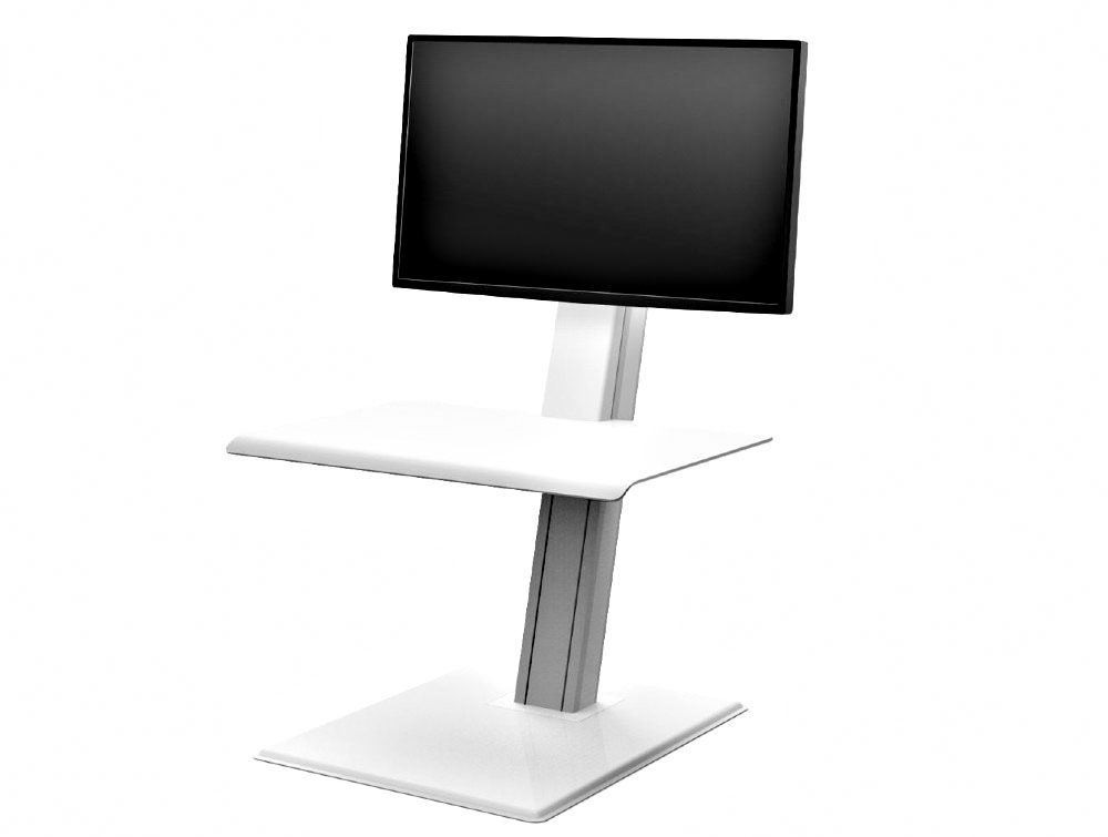 Humanscale Quickstand Eco Desk Converter for Home and Corporate Office