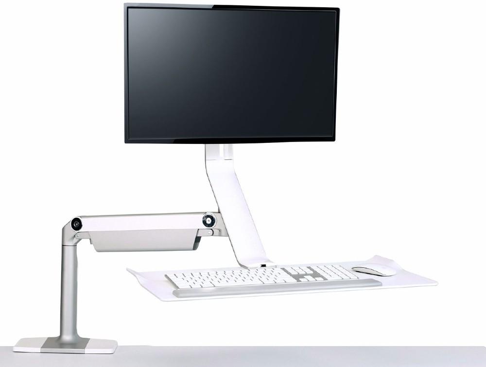Humanscale Quickstand Lite Desk Converter for Hot-Desking