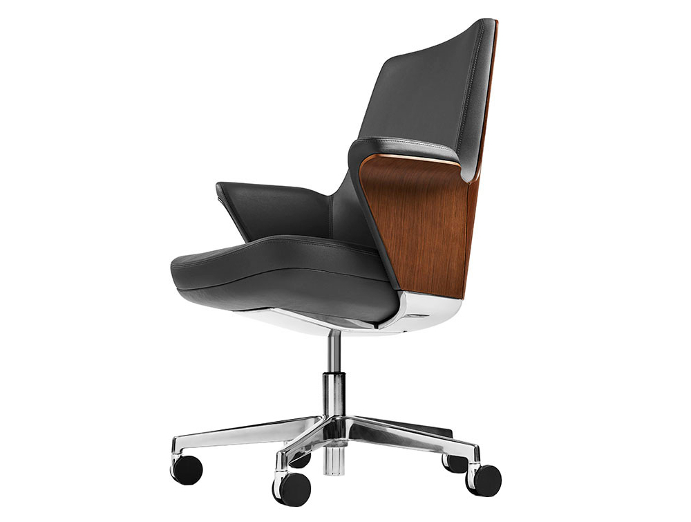 Humanscale Summa Executive Conference Wood Back Office Chair