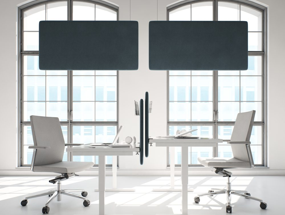 Hush Duo Ceiling Mounted Acoustic Panels