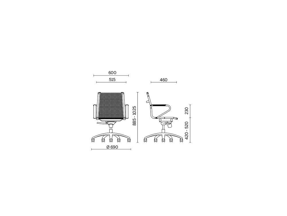 Ice Stool Office Mesh Chair 3 Dimensions.jpg