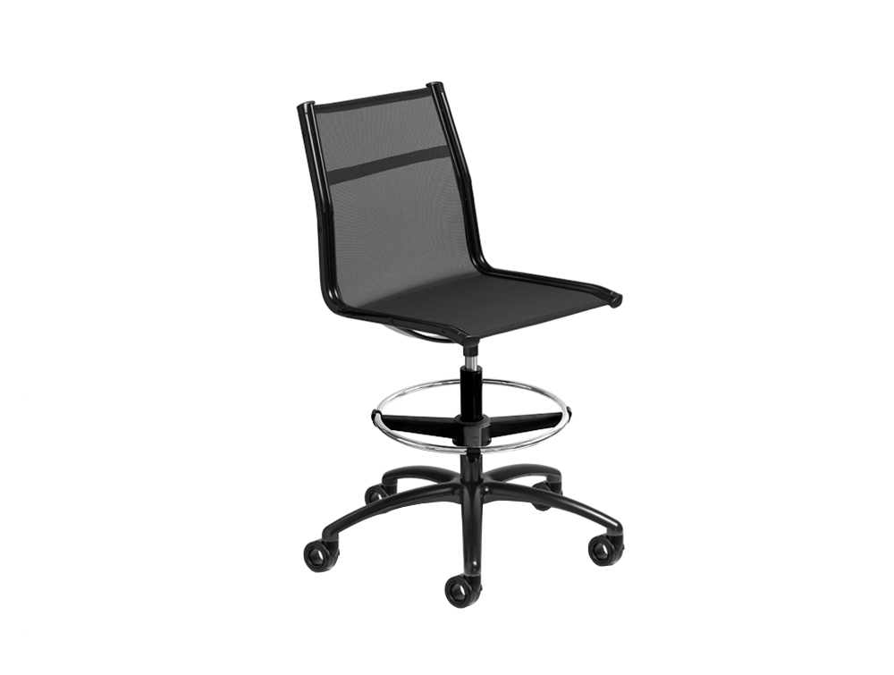 Ice Stool Office Mesh Chair