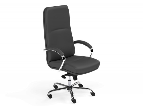 Idaho High Back Executive Chair in L001 Black